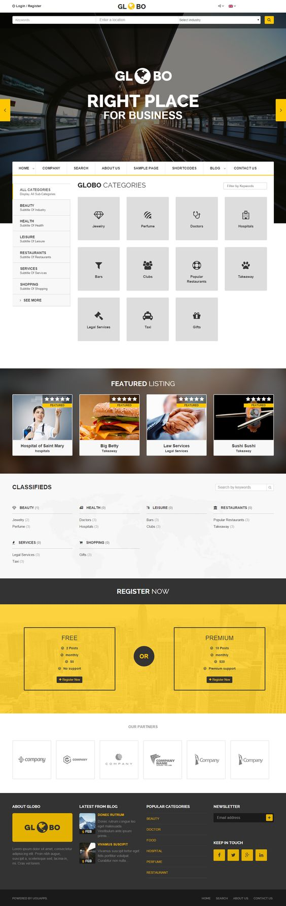 Google themes wordpress