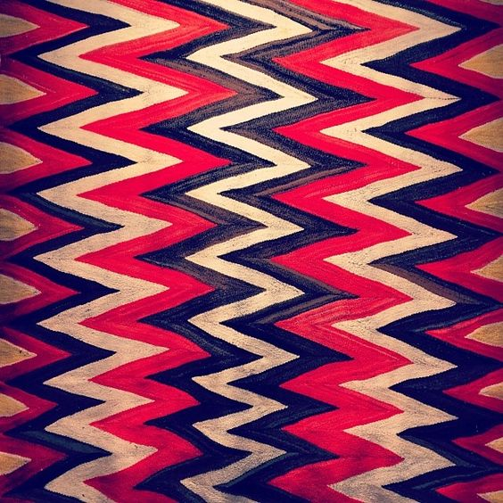 Wedge Weave textile c1890, newly hanging in our front room. What a stunner…