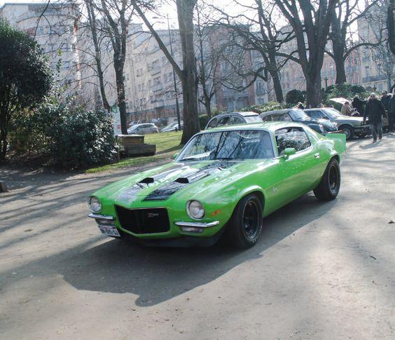 https://flic.kr/p/sA5HPS | Camaro Z28 | Chevrolet Camaro Z28 au jardin du Grand Rond