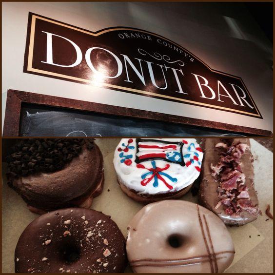 Donut Bar in Fountain Valley