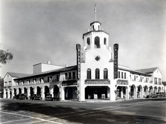 Fox Theatre, Riverside, CA - GOne With the Wind (GWTW) was previewed by test audiences on September 9, 1939 before released on December 15, 1939.