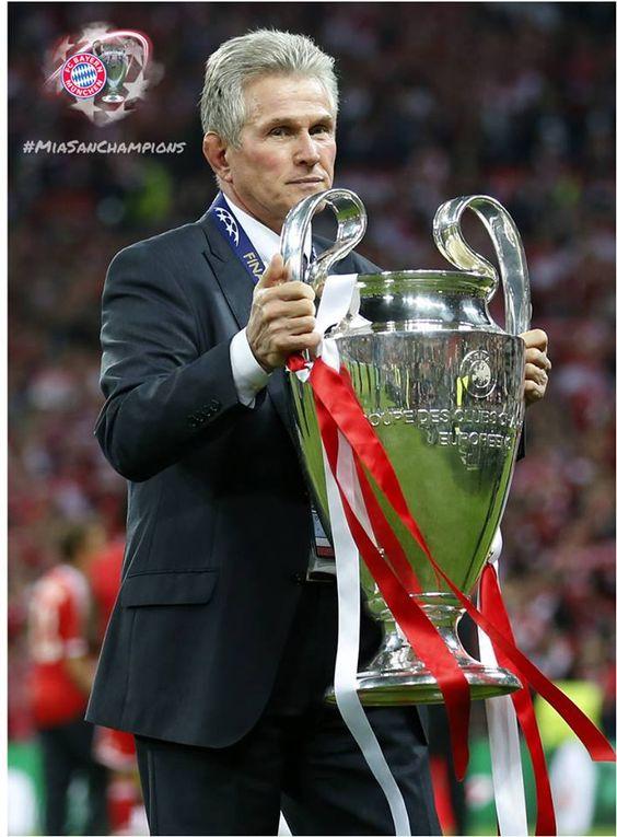 Jupp Heynckes did such a great job! CL winner with FC Bayern München 2013.