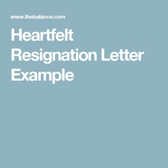 How to Write Resignation Letter #stepbystep Books \ Literature - heartfelt resignation letter