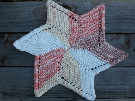 Ravelry: Starfish Cloth pattern by Dione Read Free Knit ...