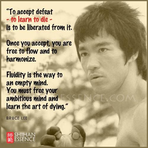 Bruce Lee Quotes Empty Your Mind Daily Inspiration Quotes