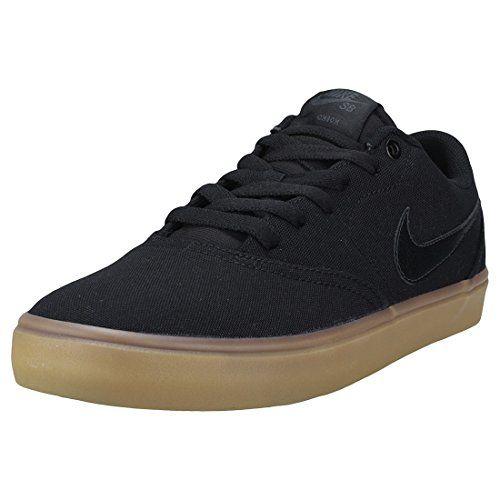 Ahora Tortuga Ataque de nervios  Nike Men's SB Check Solarsoft Canvas Skateboarding Shoes Black/Black-Gum  Light Brown 10 Check...   Sneakers fashion, Nike, Shoes