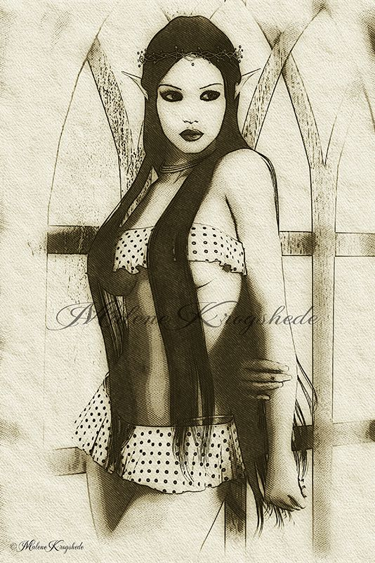 New art style by sallymalene
