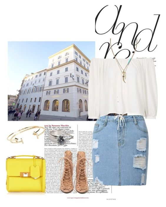"""""""Untitled #261"""" by momo-classic ❤ liked on Polyvore featuring Topshop, Banana Republic, Balenciaga, Rebecca Minkoff, Aéropostale and Maison Margiela"""