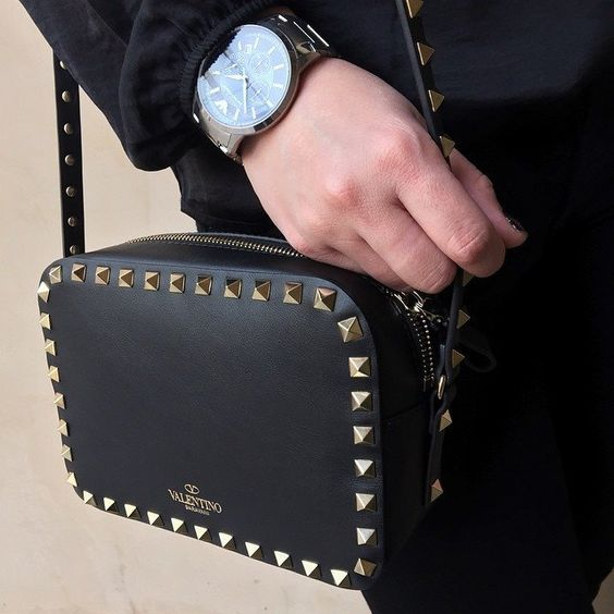 Rockstud Camera Crossbody Bag by Valentino  Valentino, Cameras and ...
