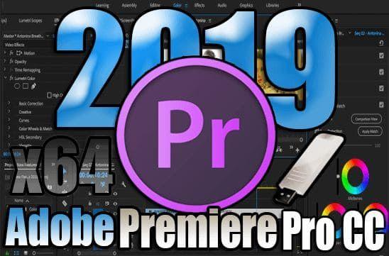 Adobe Premiere Pro Cc 2019 13 1 3 44 Portable X64 Final Premiere Pro Cc Adobe Premiere Pro Premiere Pro