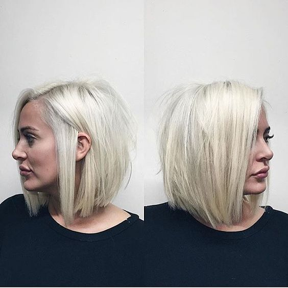 I like edgy blonde. I don't need too look like the suburban housewife, just cuz I am. I just wish I could have naturally straight hair. Oh well, I gotta work with what I've got.