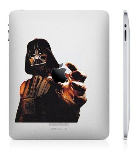 E34 Star Wars Darth Vader Apple Mac iPad 2 iPad 3 New iPad Vinyl Decal Skin Sticker | $16.99