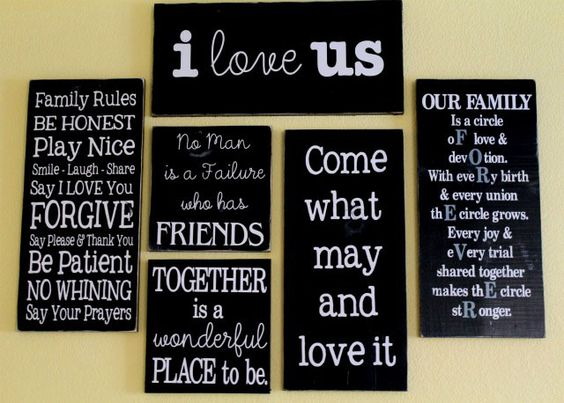 I am absolutely making these!!!: Quote Gallery, Wall Idea, Quote Wall, Gallery Wall, Wall Of Quotes, Awesome Quote