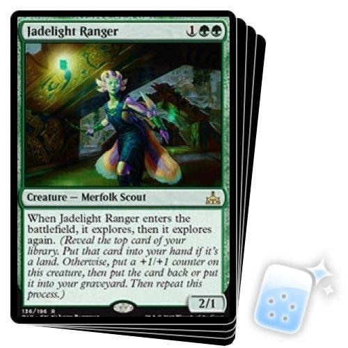 JADELIGHT RANGER X4 Rivals Of Ixalan RIX Magic MTG MINT CARD