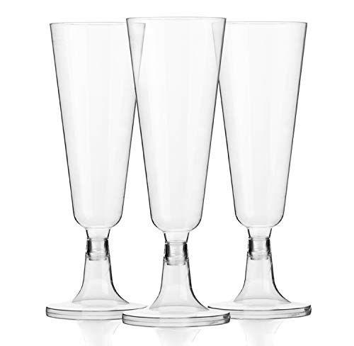 120 Plastic 5oz Champagne Glasses Bulk Disposable Champ Https Www Amazon Com Dp B07c42zz6 Disposable Champagne Flutes Champagne Glasses Champagne Flutes