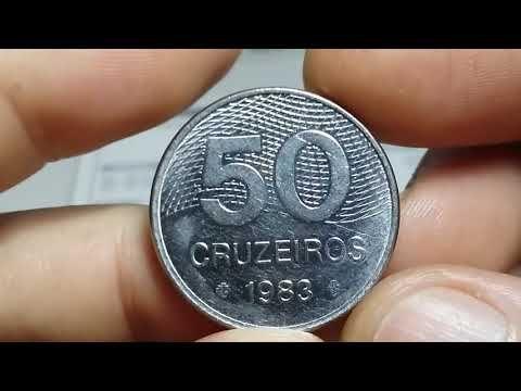 Pin Em Moedas Brasileiras