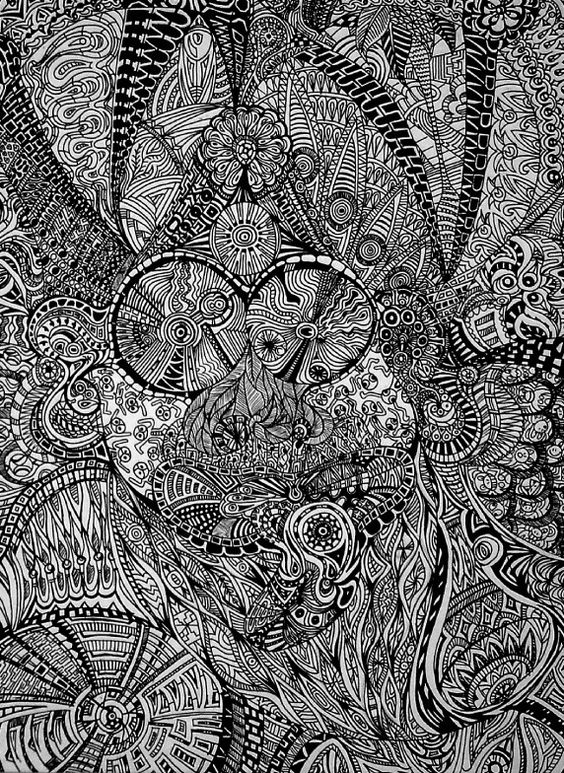 Intricate illustration - Ehsaan Mesghali