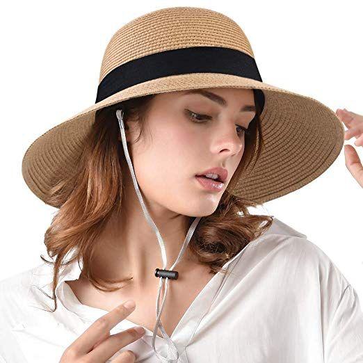 Womens Beach Sun Straw Hat Uv Upf50 Travel Foldable Brim Summer Uv Hat Hats For Women Summer Hats Summer Hats For Women