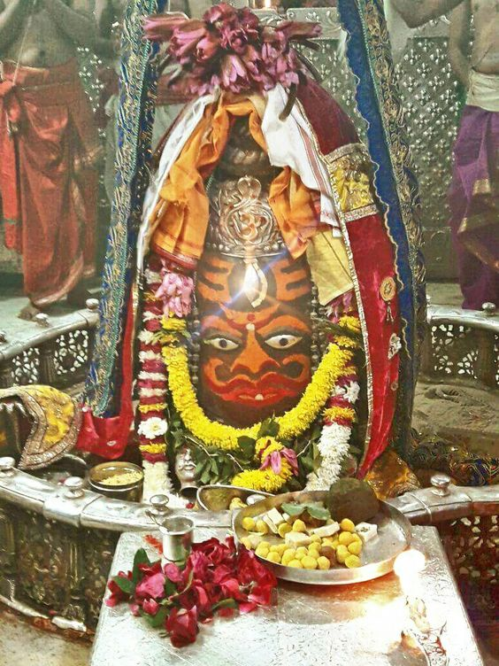 #Bhasma #Aarti pic of Shree #Mahakal #Ujjain - Dec. 20  Visit the #holy city of Ujjain famous for its #Temples  #god #shiv #shiva #shihay #bholenath #mahadev #mahakaleshwar #jaibholenath #jaimahakal #om #omnamahshivay #harharmahadev