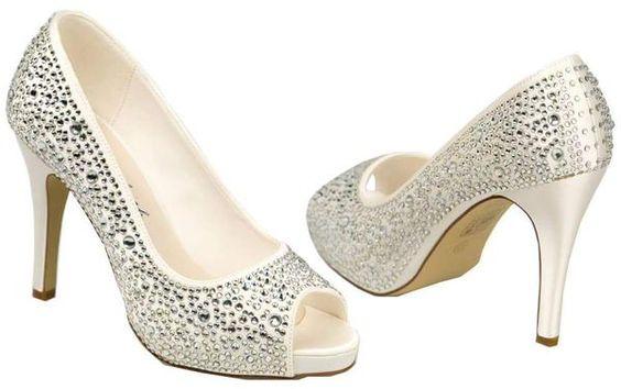 Roxanne de G.Westerleigh #LosZapatosDeTuBoda #ZapatosDeNovia #BridalShoes #PeepToe