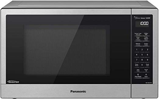 Microwave Cooking Made Easy Space Saving 1 2 Cu Ft 1200w Stainless Steel Countertop Oven With 11 Power Le Compact Microwave Oven Compact Microwave
