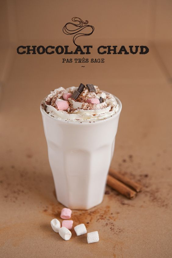 Chocolat chaud pas tr s sage belle sodas et marshmallows for 1 tablette de chocolat