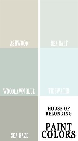 Coordinating Paint Colors These Would Look Wonderful In