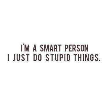 I need someone smart?