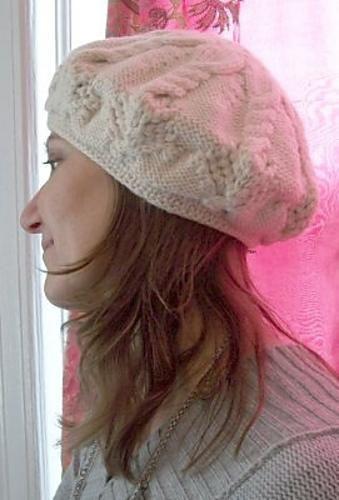 (6) Name: 'Knitting : White Lotus Tam by Stacey Gerbman free
