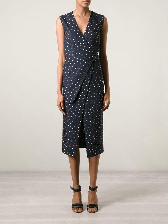 Maison Margiela Asymmetric Wrap Dress - Wendela Van Dijk - Farfetch.com