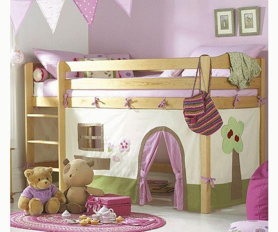 Le creazioni di Marzia - Camerette per bambini - struttura Kura di Ikea