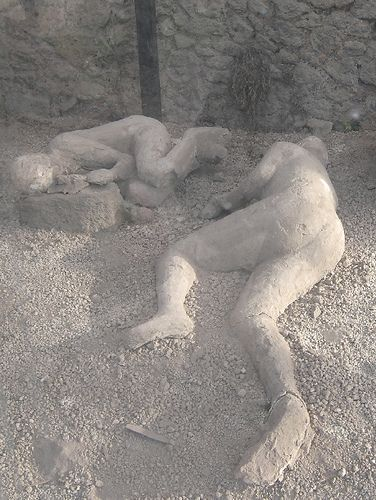 "Clothes were definitely burned - bodies were surprisingly intact, reminiscent of the wife of Lot turning to ""pillar of salt"" during the Destruction of Sodom & Gomorah"