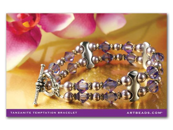 Tanzanite Temptation Bracelet Kit Postcard