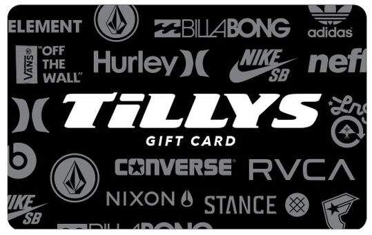 Best Gift Card Deals Christmas 2020 Gift Card   Tillys   8888885 in 2020 | Gift card deals, Best gift
