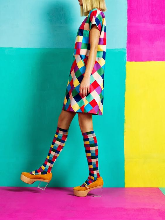 Marimekko's spring collection. Such lovely colours!