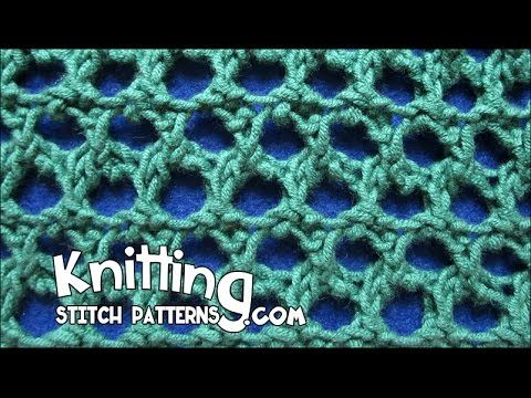 Watch video to learn how to knit the Grand Picot Eyelet stitch. + Techniques ...