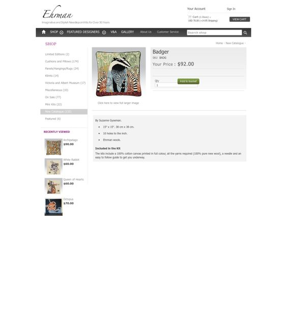 Website'http%3A%2F%2Fwww.ehrmantapestry.com%2FProducts%2FBadger__BADG.aspx' snapped on Page2images!