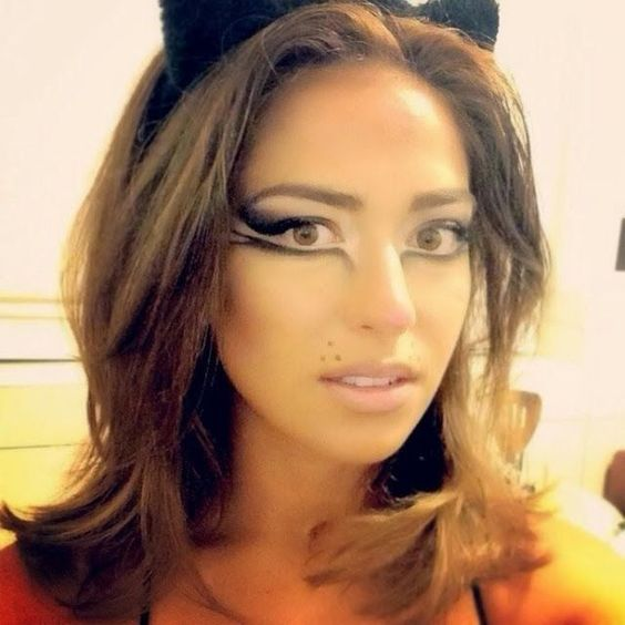 Kitty Halloween Makeup