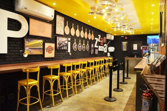 Fast Food Restaurant Interior Design Ideas That You Should Focus On Pizzeria Design Small Restaurant Design Restaurant Interior