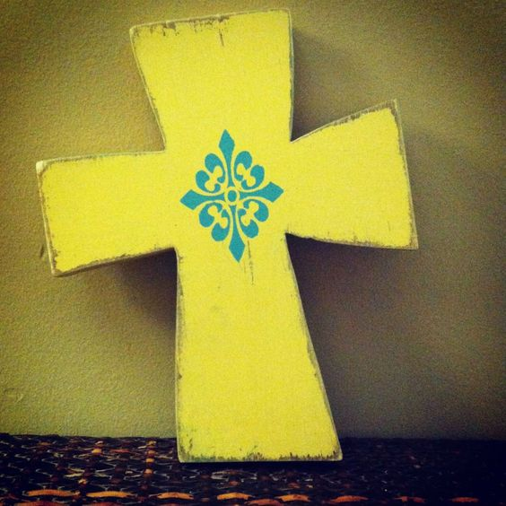 Small Wooden Cross. $35.00, via Etsy.