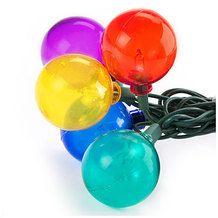Wilson & Fisher® 40 ct. Globe Patio Lights from Big Lots $12.99