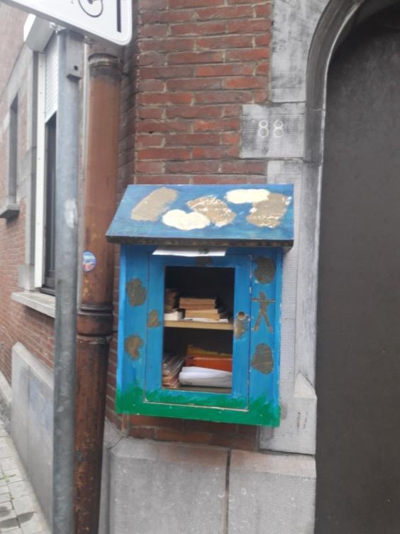 Boîte à livres Namur