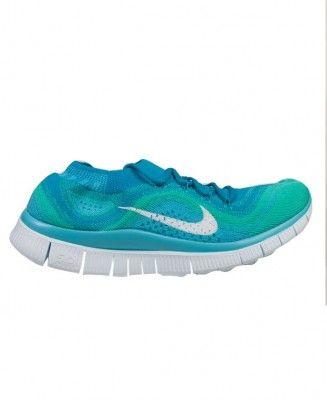 Nike - Women's Free Flyknit+ (Neo Turquoise/White-Atomic Teal-Chlorine Blue) - $160