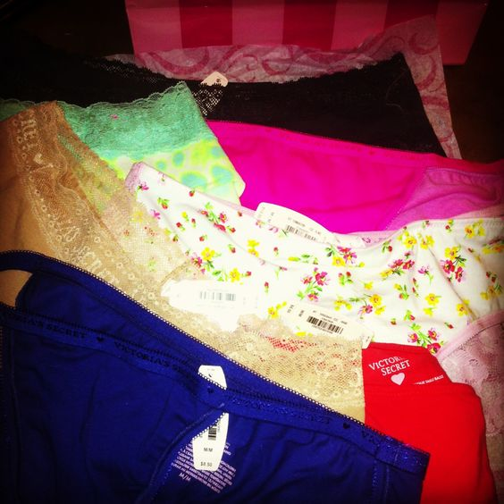#happygirl #VSSale #lovelovelove I'm one obsessed woman when it comes To Victoria Secret !! :))
