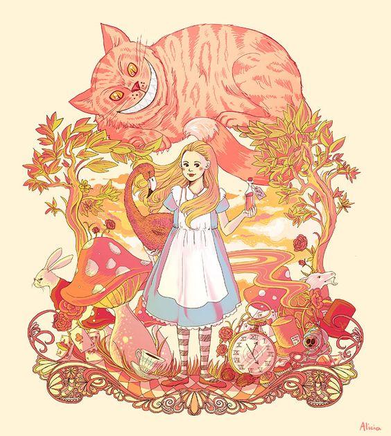 Sundown in Wonderland by ~alicia-chan on deviantART