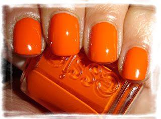 """Essie - """"Orange It's obvious"""", 2 couches avec flash"""
