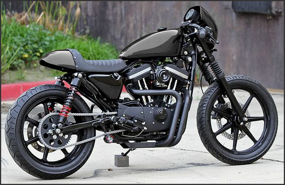 the boys at ryca motors are at it again - sportster cafe racer kit