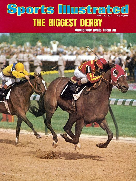 SI's Kentucky Derby Cover 1974