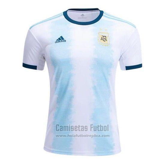 Camiseta Argentina Primera 2019 Futbol Replicas Camisetas Camisetas Deportivas Camisas De Futbol