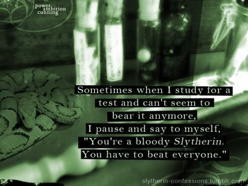 This is going to be my new motivation! - Slytherin FTW! ♡